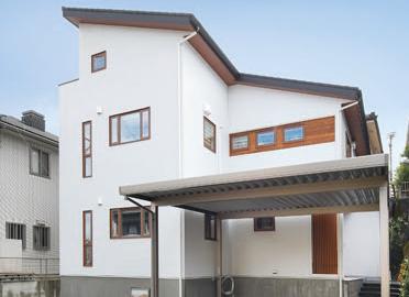 多彩な空間デザインが魅力の二世帯住宅の写真2